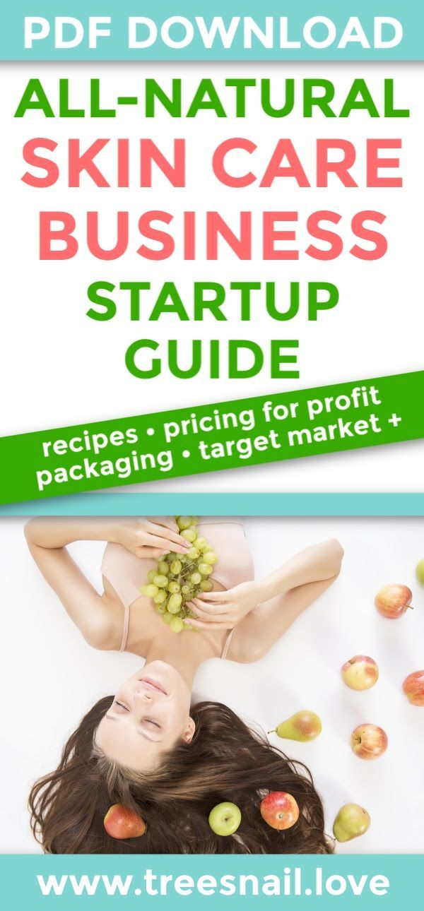 Natural Skin Care Business Startup Guide In 2020 Skin Care Business Start Up Business Diy Skin Care