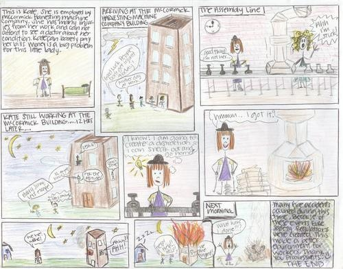 Digication e-Portfolio :: Staton US History :: Best Comic Strips  Template for the kids...alternative to one pagers?