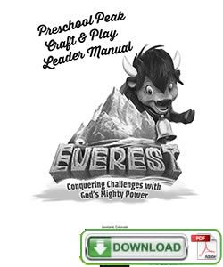 17 Best images about Everest VBS on Pinterest | Everest vbs, Preschool ...