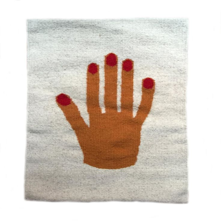 Let us give thanks for those beautiful, exquisite hands of yours. They create, hold hands, massage and pick cherries.  Hand woven and dyed with natural herbs and elements from Oaxaca, Mexico.  Please note: this is a pillow cover. Pillows can be inserted on the back of the cover. Zipper back. Wool pi
