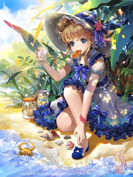 164 best magos magica images on pinterest character - Beach anime girl ...