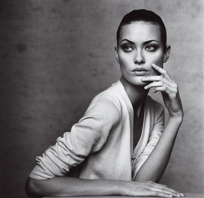 Шалом Харлоу, Vogue, 1996 фото - Ирвин Пенн