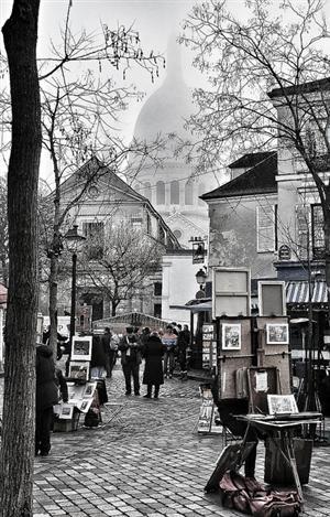 Place du Tertre, Monmartre -