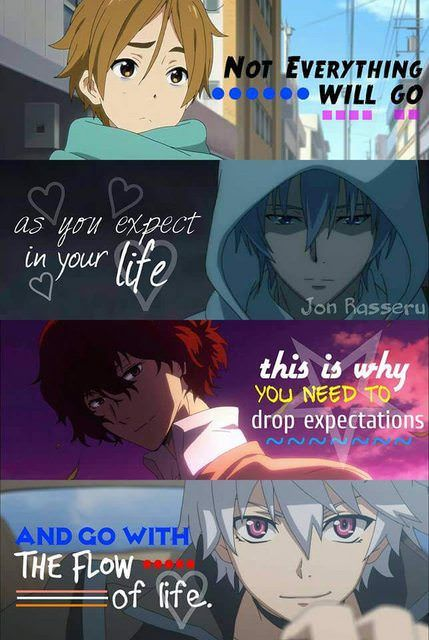 Anime And Manga Fandom Anime Guy Quotes Change Quotes Life