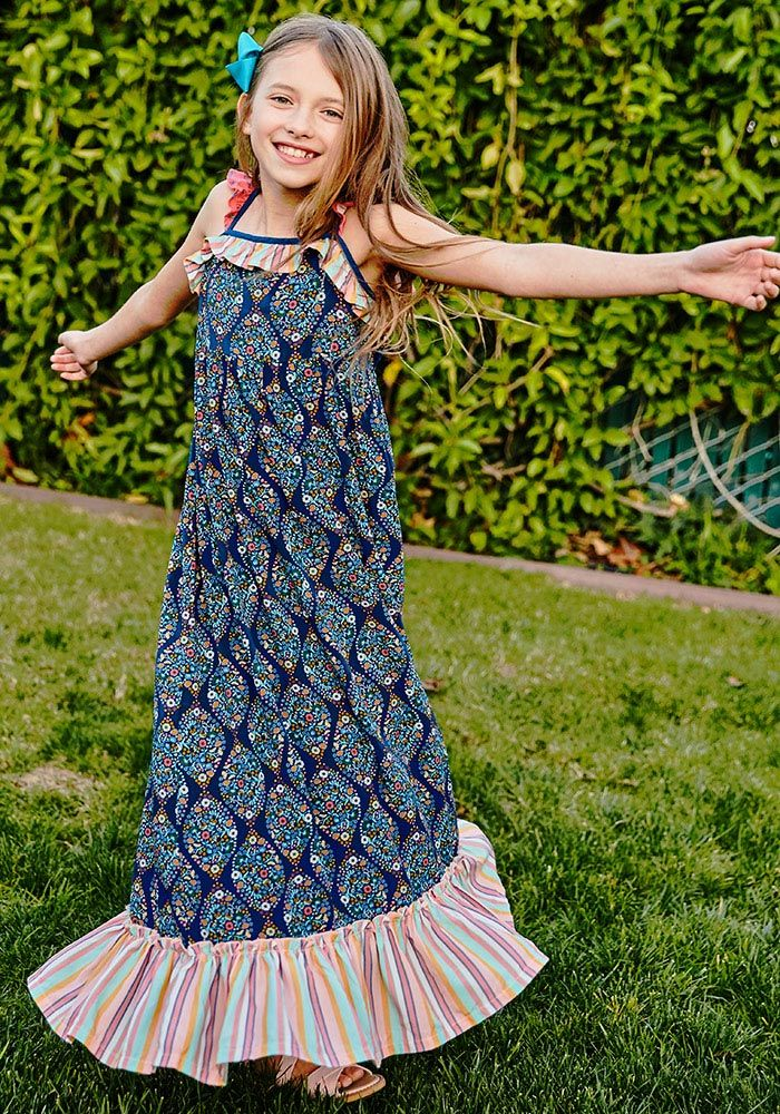 0da44911eedb Gotta Jet Maxi Dress - Matilda Jane Clothing - This must-have maxi is just  perfect for all of her upcoming summer happenings. Featuring a cool geo  print, ...