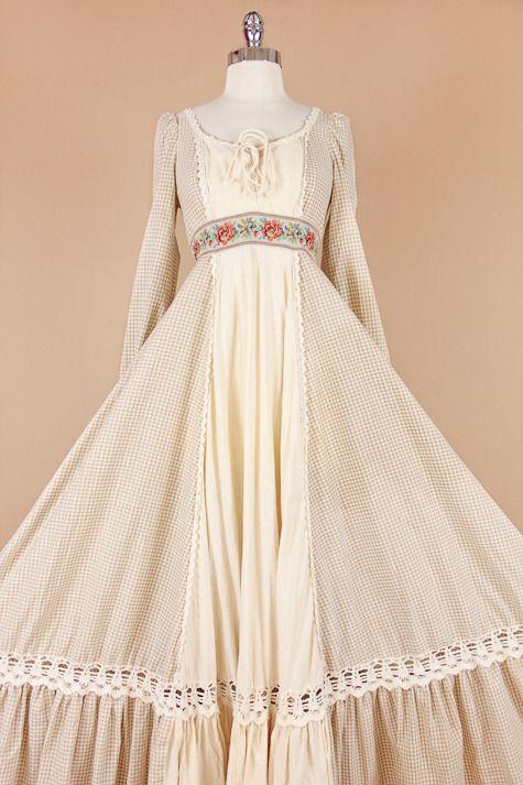 Vintage Gunne Sax Boho Dress