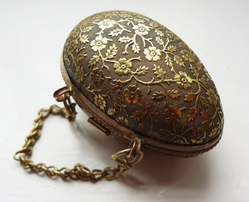 Victorian Chatelaine Egg Thimble Holder