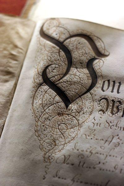 810 Best Illuminated Letters Images On Pinterest