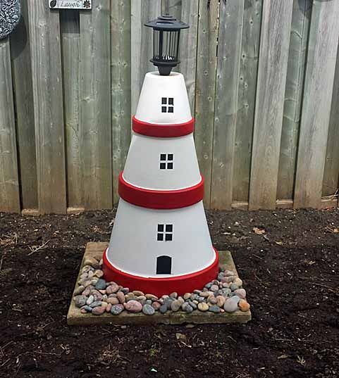 15 Best Terra Cotta Lighthouses And Art Images On