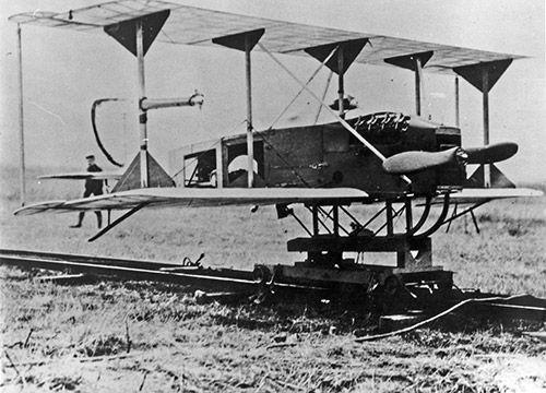 "Hewitt-Sperry Automatic Airplane: Experimental WW1 unmanned ""Aerial Torpedo"" : WeirdWings"
