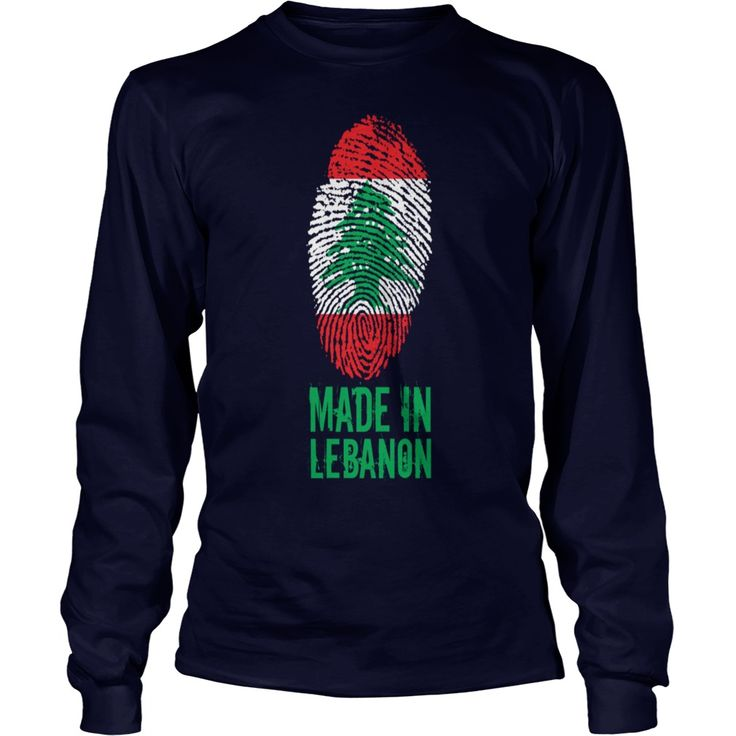 Made in Lebanon  اللبنانية - Kids Long Sleeve T-Shirt  #gift #ideas #Popular #Everything #Videos #Shop #Animals #pets #Architecture #Art #Cars #motorcycles #Celebrities #DIY #crafts #Design #Education #Entertainment #Food #drink #Gardening #Geek #Hair #beauty #Health #fitness #History #Holidays #events #Home decor #Humor #Illustrations #posters #Kids #parenting #Men #Outdoors #Photography #Products #Quotes #Science #nature #Sports #Tattoos #Technology #Travel #Weddings #Women