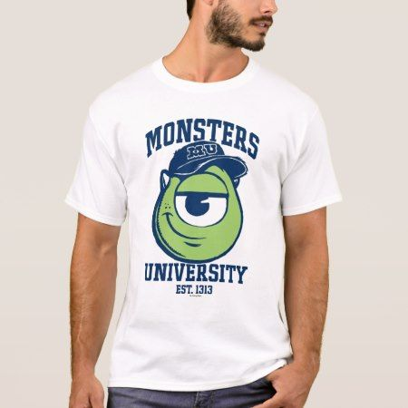 Mike Monsters University Est. 1313 light T-Shirt - tap, personalize, buy right now!