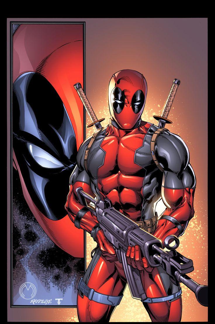 Comics Art, Fun Deadpool, Comics Book, Marvel Dc, Heart Comics, Wade Wilsondeadpool, Deadpool Happy, Super Heroes, Nerdy Things