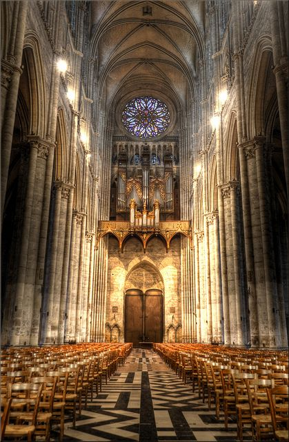 Amiens Cathedral, France - though I have a very odd reason for wanting to go here