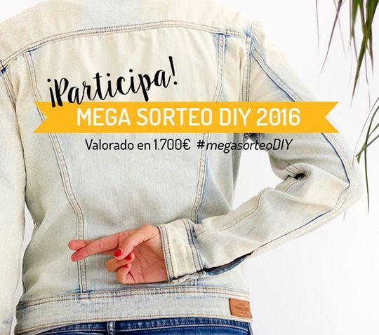 Mega sorteo DIY 2016