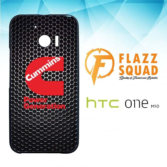 cummins Power Generation logo Z3884 HTC M10 Case
