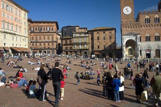 #Plaza del Campo, Italia