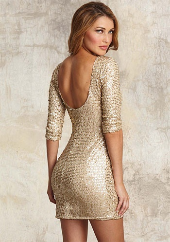 all that glitters...: Karen O'Neil, New Years Dress, Eve Dresses, Years Dresses, Gold Sequins, Sequins Dresses, Sparkly Dresses, New Years Eve, Gold Dress