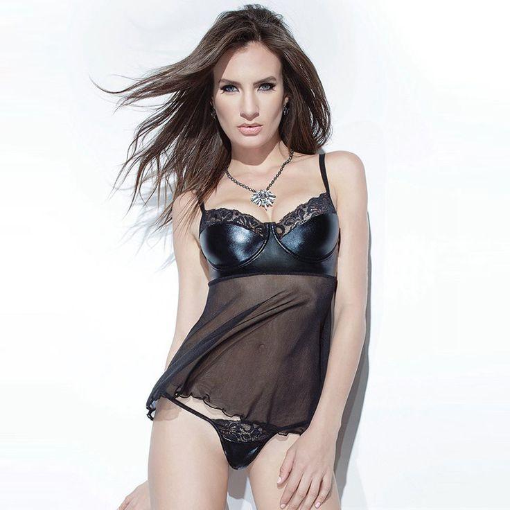 Купить товарЕвропа и соединенные Штаты плюс размер экзотические сексуальное женское белье черного кружева шить пижамы женщины полоса пояс соболезновать ночной рубашке в категории Трусы удлинённыена AliExpress. цвет, как показановес 0.09 Кгматериал: 95% Полиэстер + 5% Спандексв том числе Платье + G строка