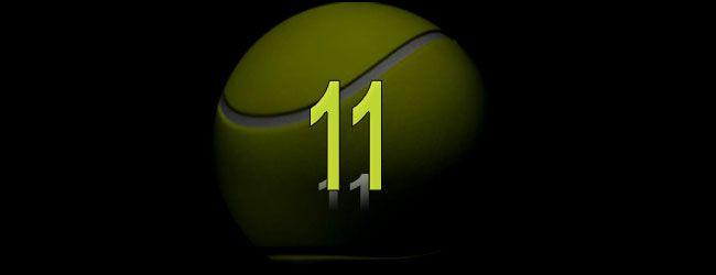 Once sembrados entre los primeros diez fueron eliminados en la primera semana del Abierto Australiano 2017 -- (Andy Murray (1),  Angelique Kerber (1), Novak Djokovic (2), Agnieszka Radwanska (3), Simona Halep (4), Kei Nishikori (5), Dominika Cibulkova (6), Marin Cilic (7), Svetlana Kuznetsova (8), Carla Suárez Navarro (10) y Tomas Berdych (10).