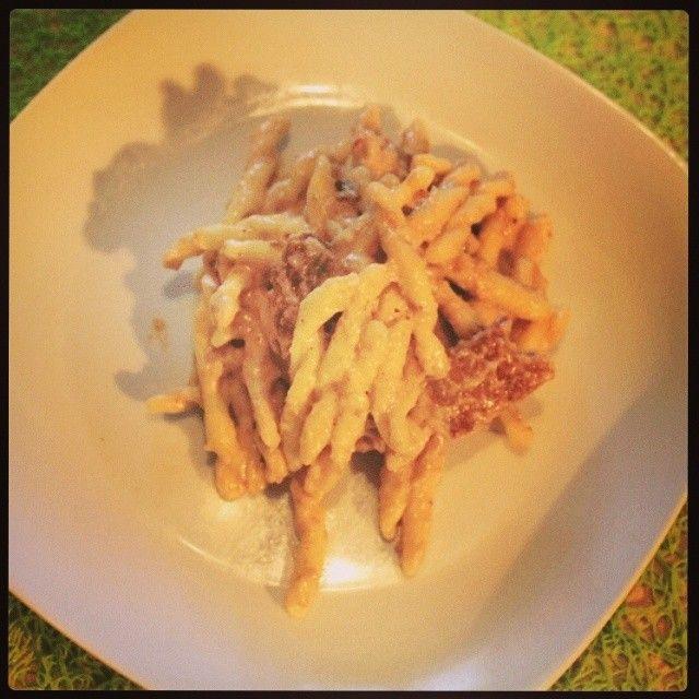 Strozzapreti Pasta Vera alla spadellata   By Rosy Balzani http://www.smodatamente.it/2013/12/09/ricetta-strozzapreti-pasta-vera-spadellata  www.pastavera.it https://www.facebook.com/Pastavera