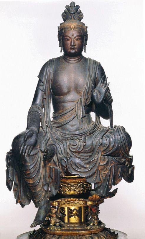 イSムのフィギュア 宝菩提院願徳寺の菩薩半跏像, Japan