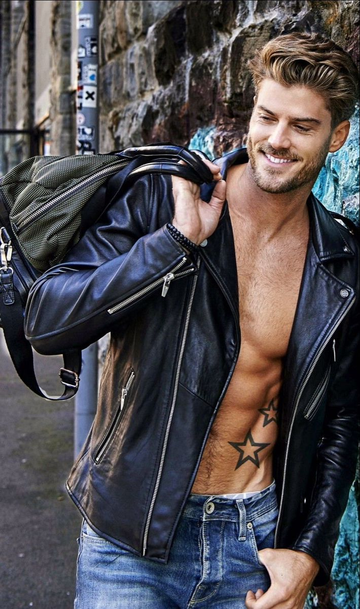 Pin By John Pennsy On Leather On The Modern Man Leather Jacket Men Celebrities Leather Jacket Leather Jacket [ 1200 x 710 Pixel ]