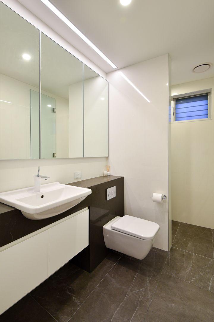 Carina Heights Bathroom Design - Dion Seminara Architecture
