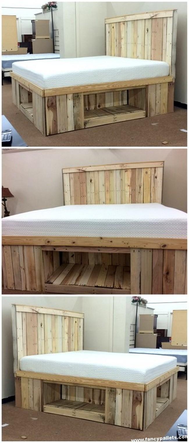 25 Mesmerizing Pallet Creation To Craft On Your Own Pallet Furniture Plans Diy Furniture Bedroom Pallet Furniture Bedroom