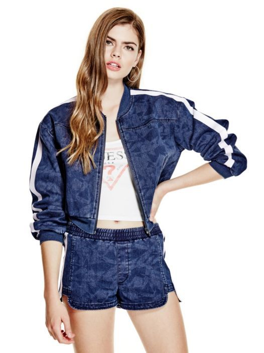 BOMBER-STYLE JACKET on Guess.eu