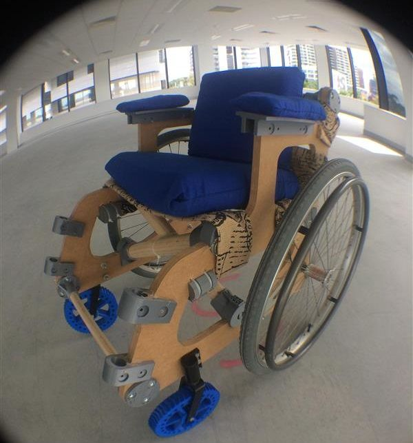Australian based maker Hugo Riveros has designed a 3D printed wheelchair in the hopes that it will one day become accessible to anyone with a disability.