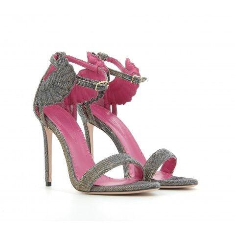 10cm Satin MINNIE Sandals Spring/summer Oscar Tiye UDFXNoU