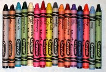 List of Crayola crayon colors - including Specialty Crayons.  Wikipedia, the free encyclopedia