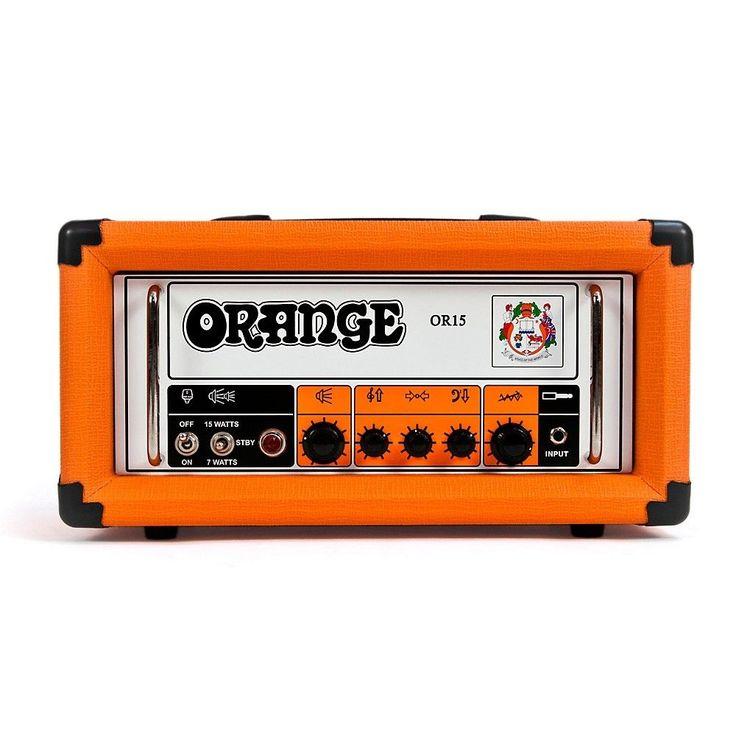 Orange Amplifiers OR Series OR15H 15W Compact Tube Guitar Amp Head LN #OrangeAmplifiers