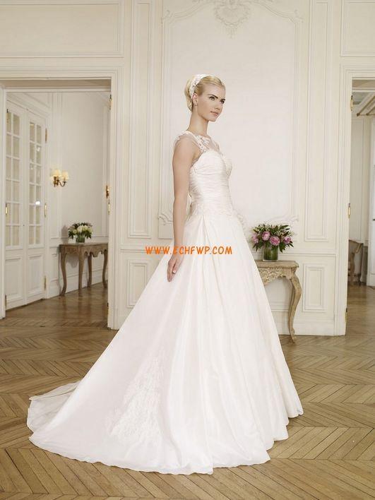 Princesové Bez rukávů Přírodní Svatební šaty 2014
