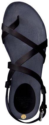 Zwarte Fred de la Bretoniere Sandalen 304024