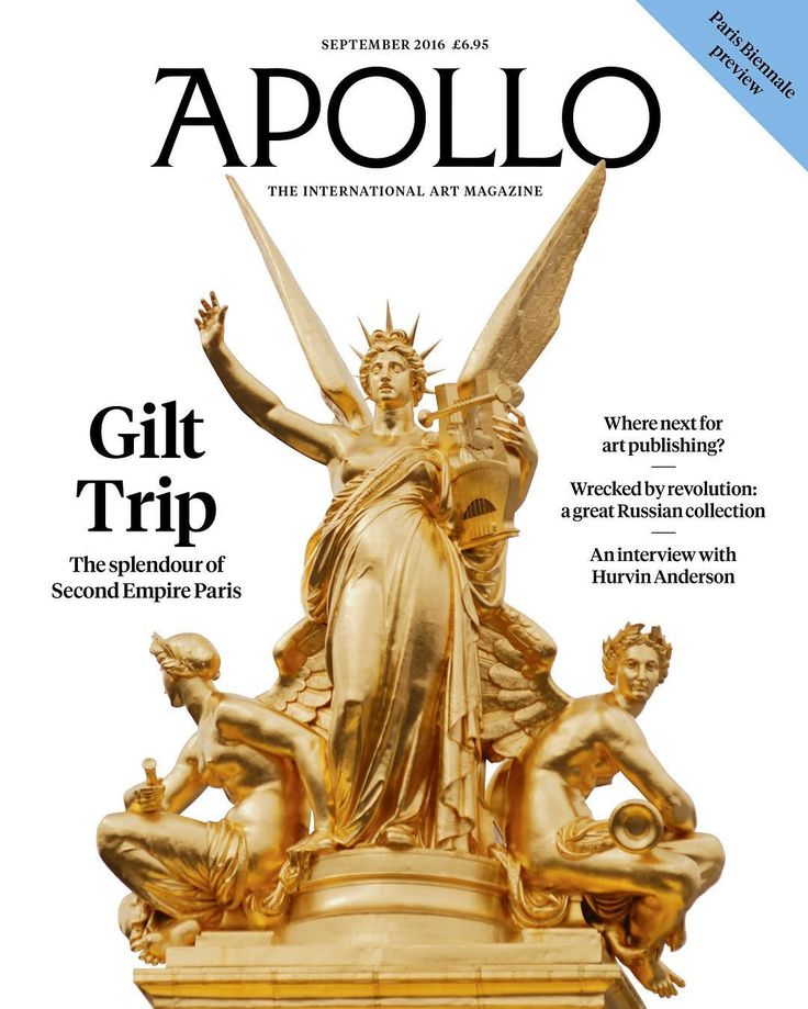 September issue of Apollo out now! Read highlights from the magazine on our website (link in profile) #newissue #parisbiennale