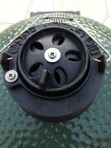 How to control temp of BGE
