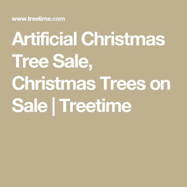 Artificial Christmas Tree Sale, Christmas Trees on Sale   Treetime