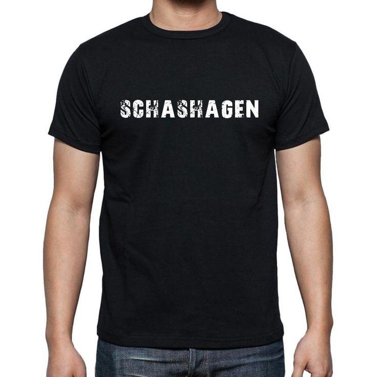 schashagen, Men's Short Sleeve Rounded Neck T-shirt