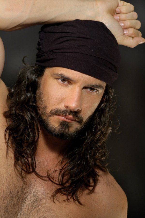 "Cuban actor, Mario Cimarro.  Has played important roles in ""novelas"" from Mexico and Colombia."