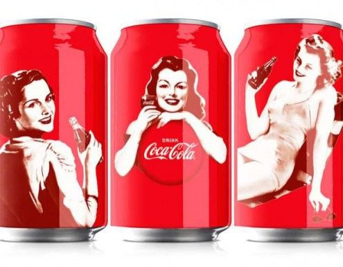Coca-Cola Pinups PD: Coca Cola, Coke, Packaging, Cocacola, Pinup, Pin Up, Design, 125 Years