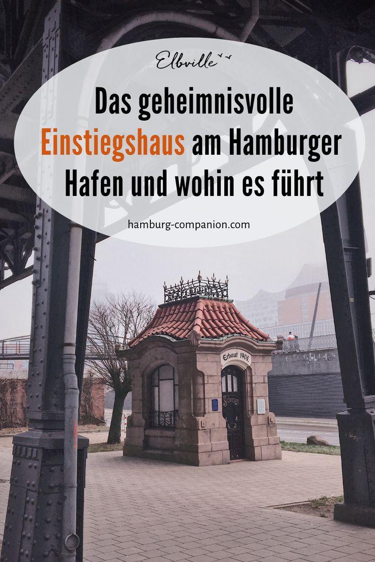 Frau Elbvilles Hamburg Lexikon: Das Siel-Einstiegshäuschen – Frau Elbville's Hamburg