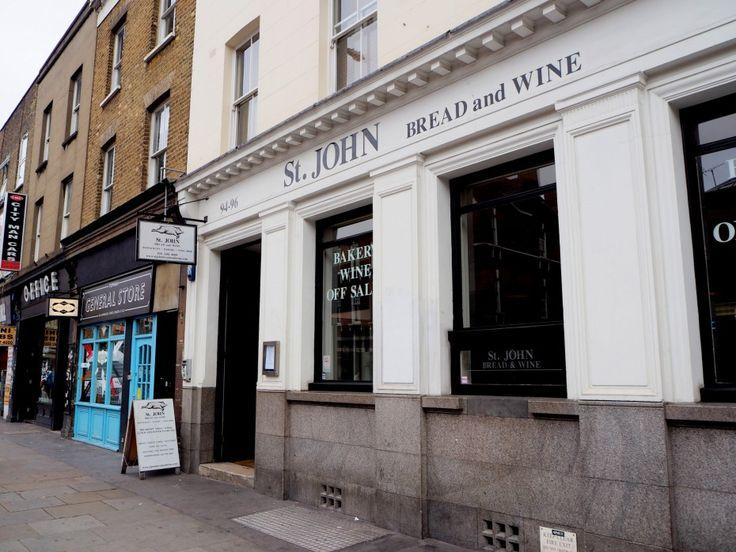 St. John Bread & Wine, Spitalfields