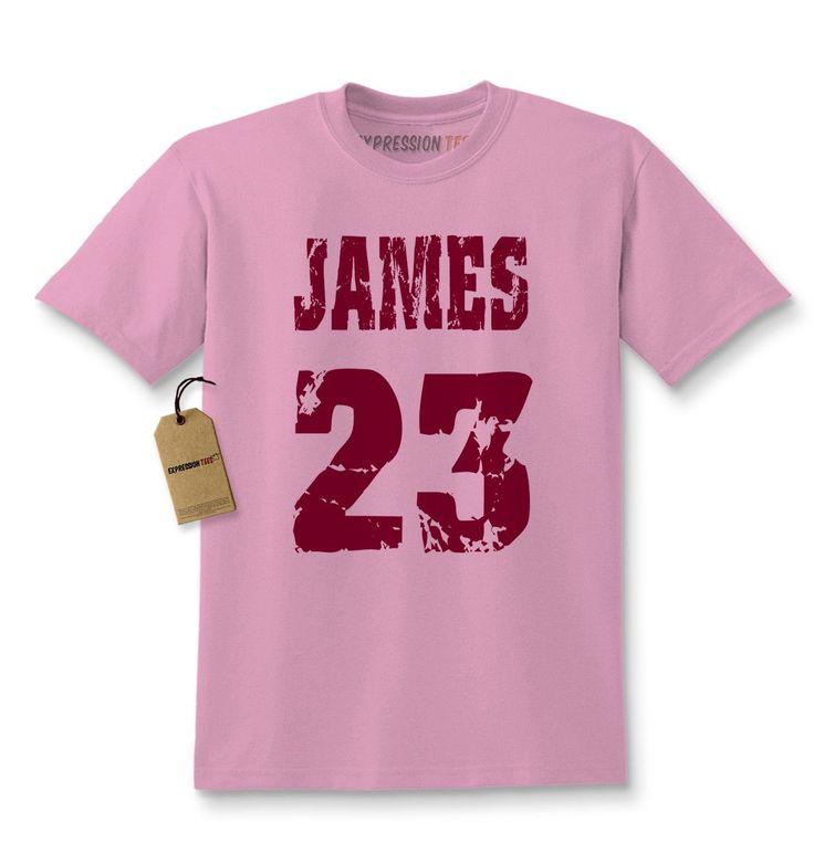 James 23 Cleveland Basketball Kids T-shirt