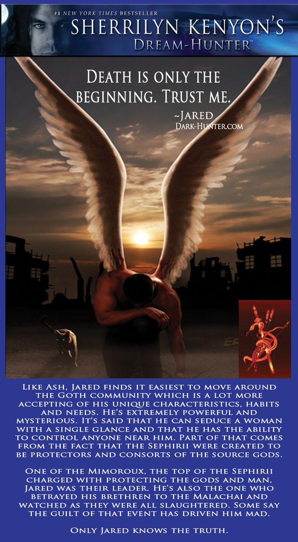 Jared, Sephirii General · Dark Hunterbook Recommendationsreading Booksbook
