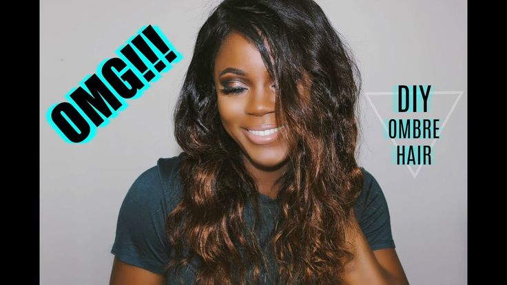 HOW TO: DIY OMBRE HAIR TUTORIAL | OMGHERHAIR 360 BRAZILIAN LACE FRONTAL WIG