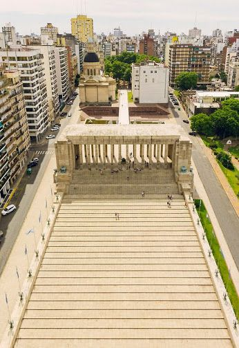 Rosario - Argentina picture from the top of the national flag memorial- Awesome view from up there, but I hated the elevator ride!