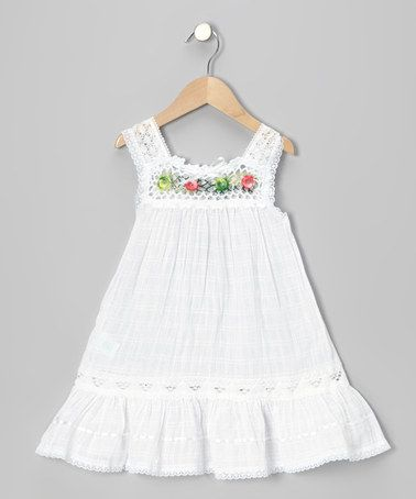 White Nathaly Ibiza Dress
