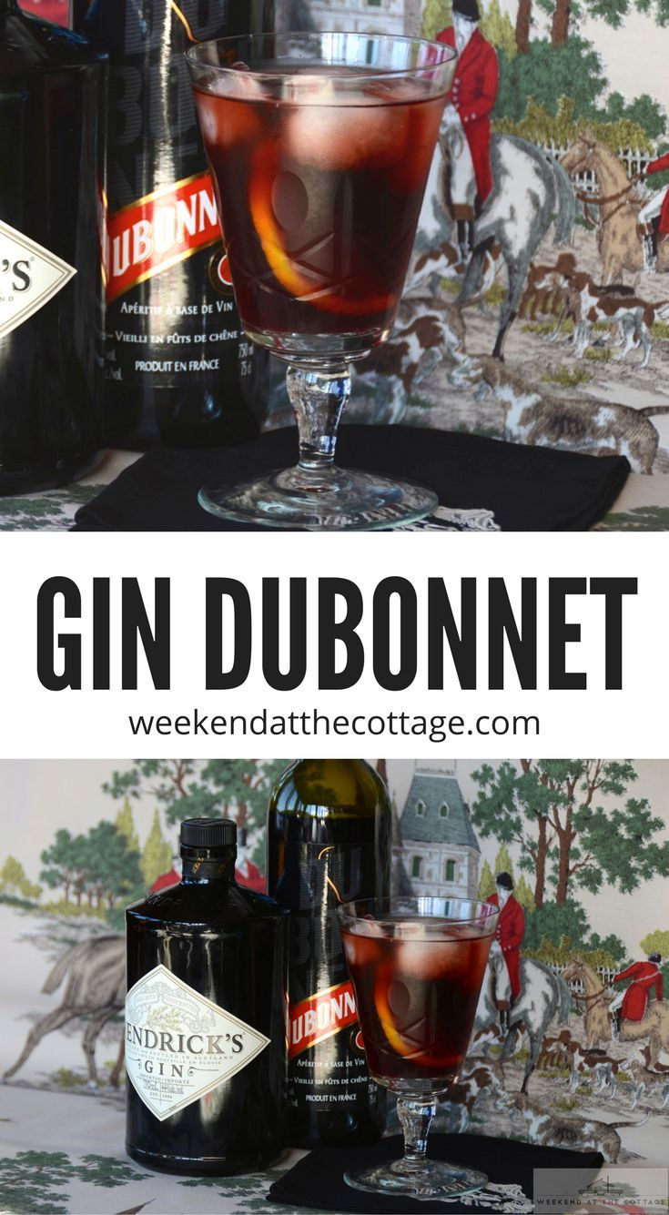 Simplicity reigns for this delicious GIN DUBONNET COCKTAIL, reputed to be Queen Elizabeth's favourite midday libation! Three essential ingredients producing one regal result; red Dubonnet, gin, and a slice of lemon. Enjoy a drink fit for a queen!